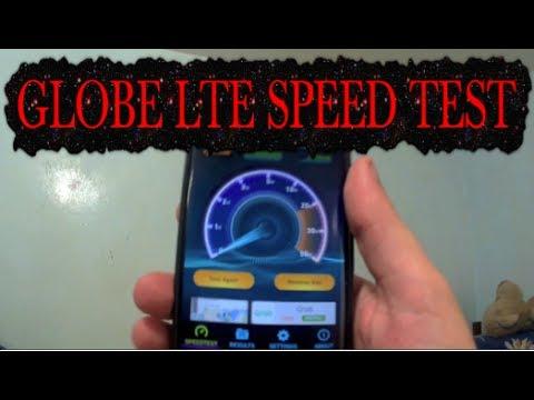Globe LTE Mobile Data Internet Speed Test Cebu City ...