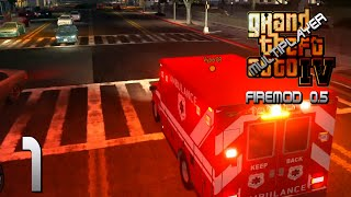 GTA IV Multiplayer| Firefighter Mod 0.5 | Abandon Ship!