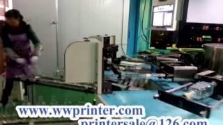 Square Wine Glass Bottle Cnc Screen Printer Machine