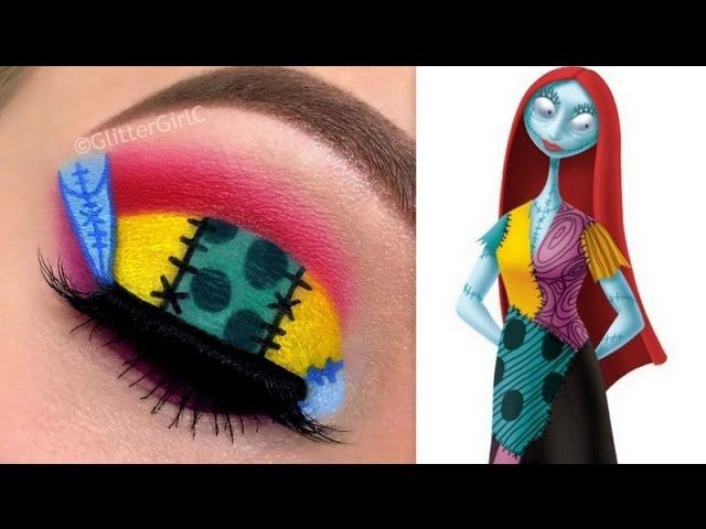 Sally From The Nightmare Before Christmas Makeup D Glittergirlc
