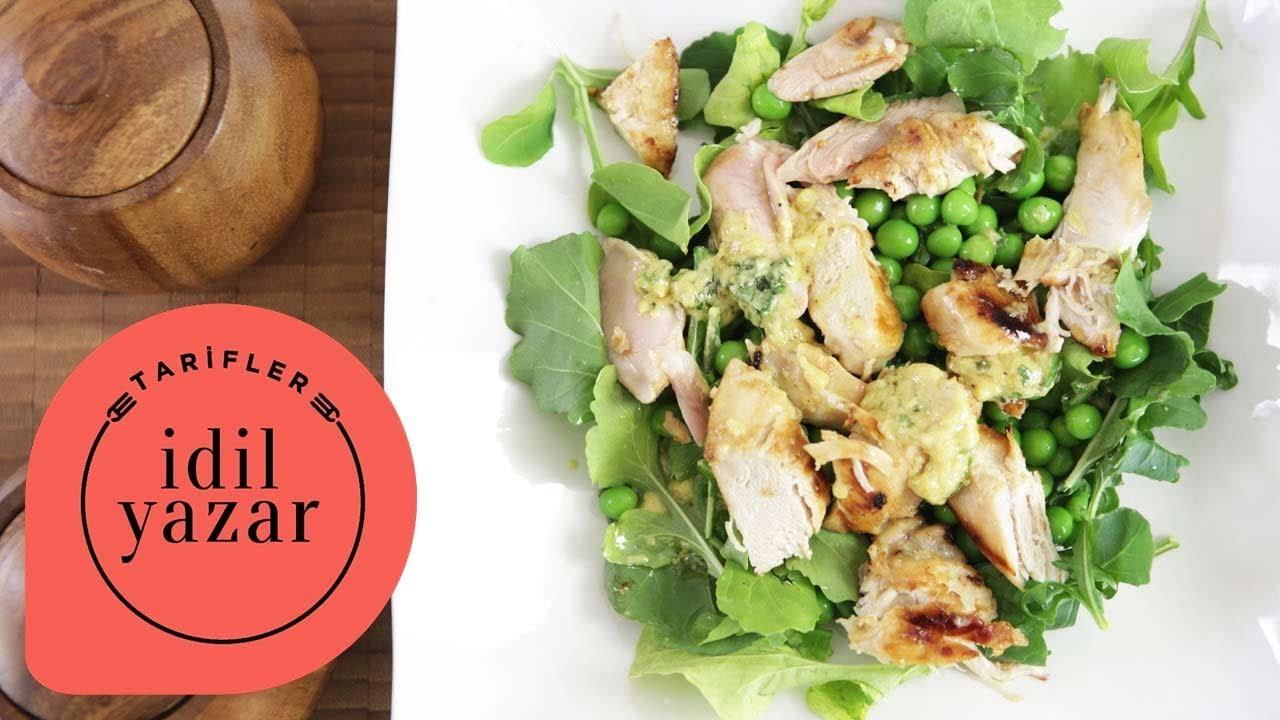 Izgara Tavuklu Salata Tarifi – Yemek Tarifleri