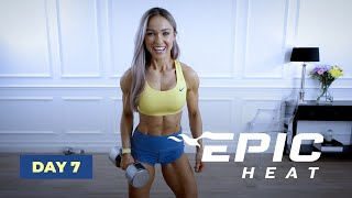 FLAMING LEGS - Leg Day Workout | EPIC Heat - Day 7