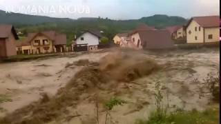 Terrible flooding - Romania 2018