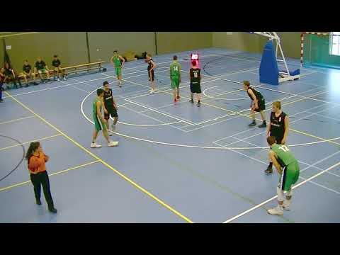 Basketball Men's Boys MU16-1 Harlem Lakers - Noordkop Den Helder 24-03-18