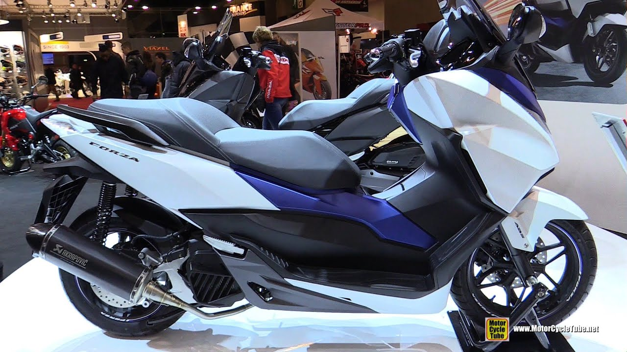 2016 honda forza 125 abs scooter walkaround 2015 salon moto paris youtube. Black Bedroom Furniture Sets. Home Design Ideas