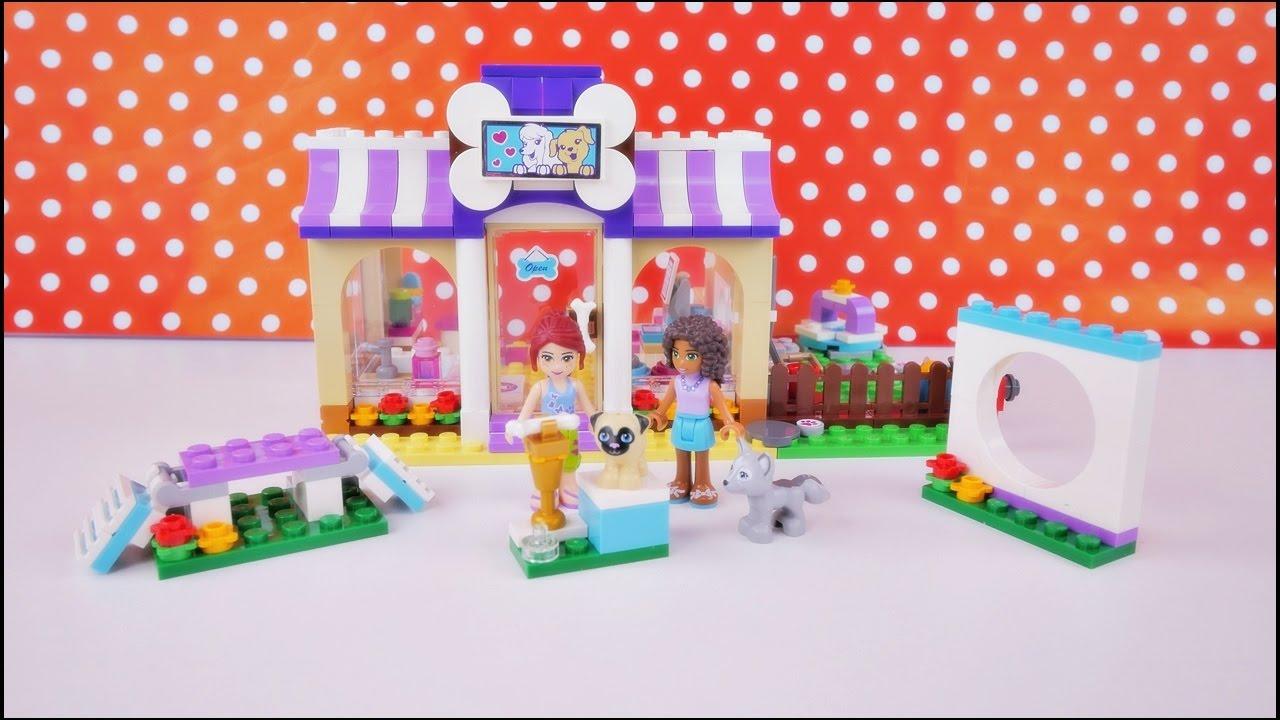 Przedszkole Dla Szczeniąt Budowanie Klocków Lego Friends 41124