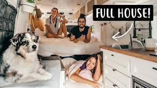 3 PEOPLE + A DOG LIVING IN A VAN | Van Life in Canada