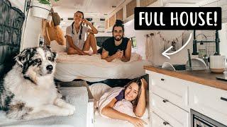 3 PEOPLE + A DΟG LIVING IN A VAN | Van Life in Canada