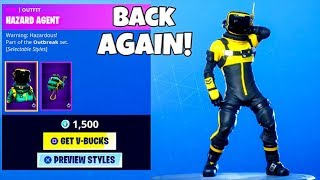 TOXIC SKINS ARE BACK With NEW Styles..! (Item Shop Showcase) Fortnite Battle Royale