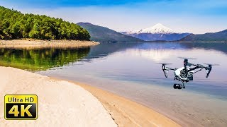 4k video ultra hd, filmed with inspire 1 raw drone in patagonia (chile and argentina) rendered to 60fps 2160p uhd film from footage. you may ...
