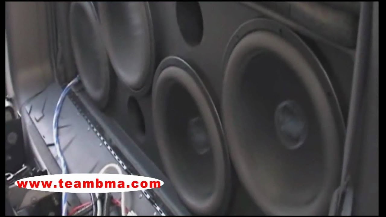 Chevy Avalanche 151 6db 4 12 Inch Team Bma Sub Woofers