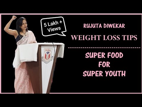 RUJUTA DIWEKAR | SUPER FOOD FOR SUPER YOUTH | VIVA