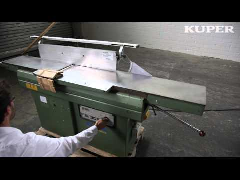 2232619 SAC FS 305 Abrichthobelmaschine - YouTube