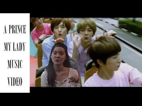 A-Prince - My Lady MV (Mone, Korea) (former trainee, 元練習生、엽습생출신)