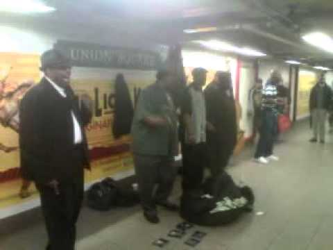 New York City Street Music, Union Square Station,