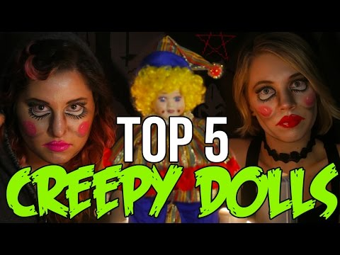TOP 5 Creepy Dolls that Will Keep You Up At Night // Dark 5 | Snarled