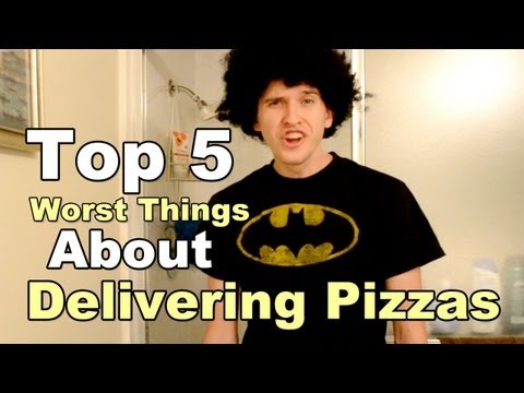 Top 5 Worst Things About Being A Pizza Delivery Guy