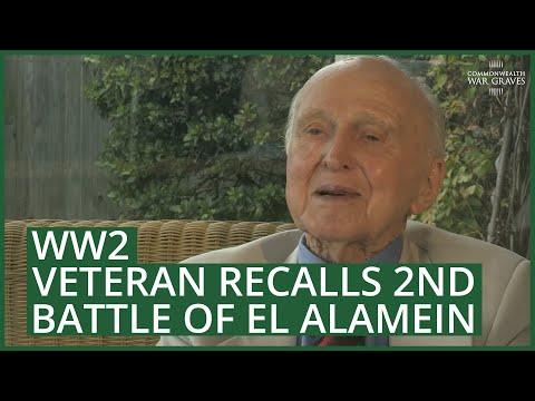 World War Two veteran recalls second Battle of El Alamein
