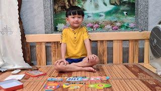 Đồ chơi xếp hình bằng gỗ cho bé ❤