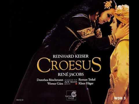 Keiser Reinhard – Croesus 1710