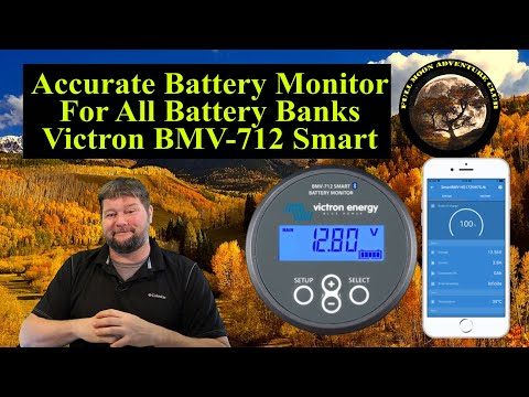 Victron Battery Monitor BMV 712 Smart  Review And Test