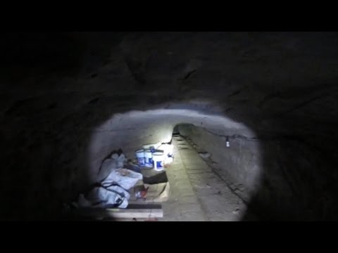 Huge underground drug tunnel stretches across U.S.-Mexico border