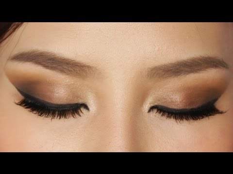 Easy eye makeup for brown eyes