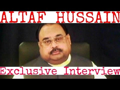 MQM leader Altaf Hussain exclusive interview .BBC Urdu