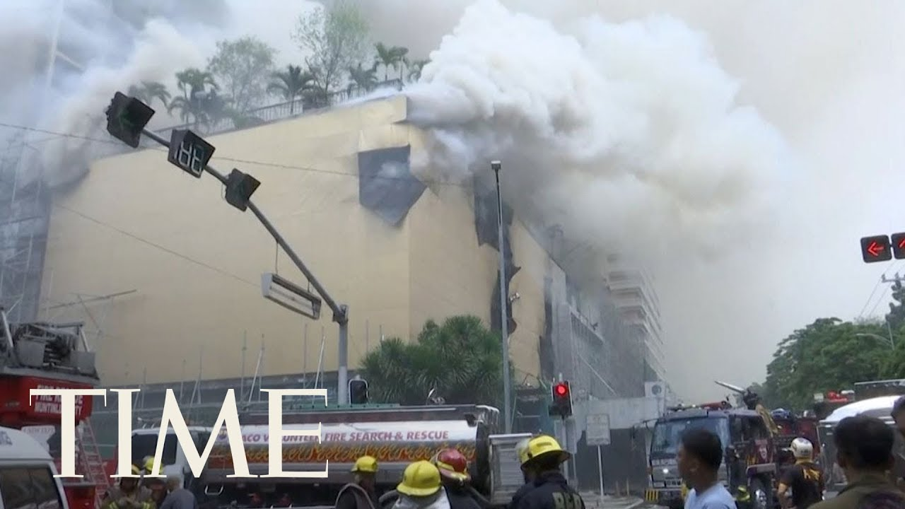 5 Dead After Fire At Manila Pavilion Hotel In The Philippines, Officials Launch Investigation