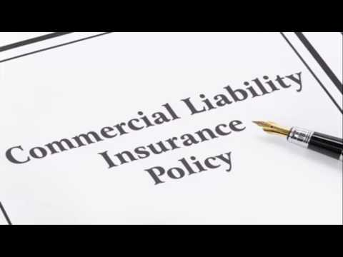 Commercial Liability Insurance Policy