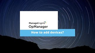 How to group devices in OpManager?