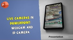 Live Cameras in PowerPoint (webcam, IP camera) I PresentationPoint