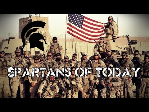 U.S. Military Motivation / Inspiration   Spartans Of Today
