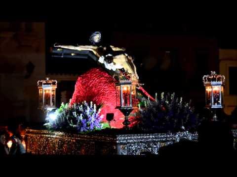 Procesión del Santisimo Cristo del Humilladero. Semana Santa Azuaga 2016