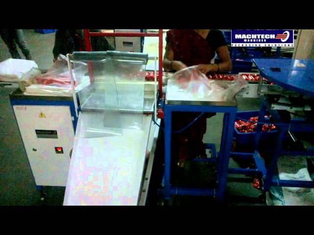 Polybag Filling & Sealing System   Machtech Machines