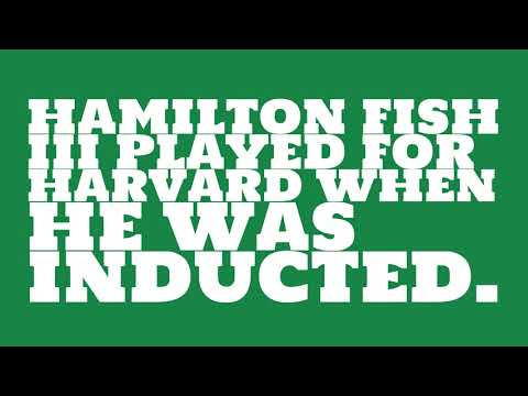 Who did Hamilton Fish III play for?
