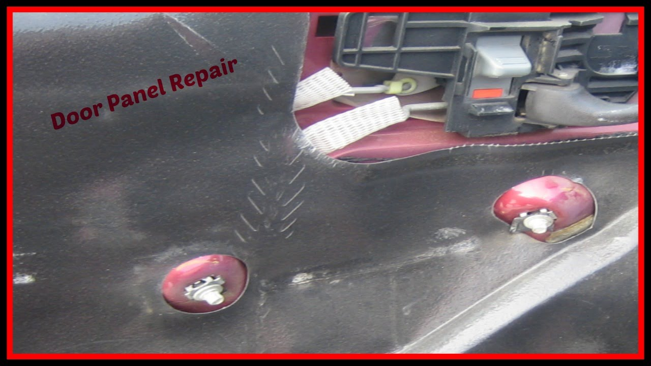 Chevy Blazer Door Panel Repair