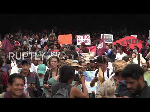 Mexico: Thousands march in remembrance of 1968 student massacre