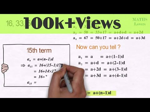 Arithmetic Progression complete in 6 min    Class 10 NCERT    Animation Video