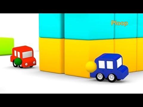 Cartoon Cars - EXPLODING PAINT BALLS! - Children's Cartoons - Children's Animation Videos for kids