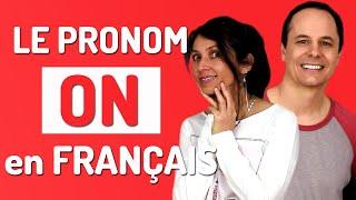 Gambar cover ON en FRANÇAIS : comment utiliser le pronom on en français