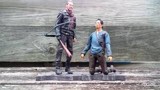The Walking Dead TV Show Negan and Glenn Two Pack Review