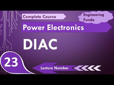 DIAC working, DIAC characteristics and DIAC basics in Power Electronics by Engineering Funda