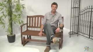 Alpine Double Glider Seat Bench - Product Review Video