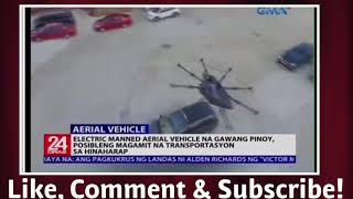 Aerial Vehicle Invented by a Filipino! Science and technology News! September 24, 2018