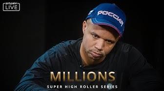 MILLIONS SHR Day 1 FULL STREAM | MILLIONS Super High Roller Series Sochi 2020
