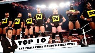 TOP 10 LES MEILLEURS DEBUTS CHEZ WWE