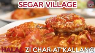 Segar Village - Halal-certified Zi Char Eatery With Two Crabs At $30 Promo