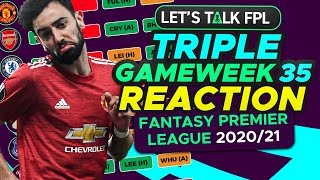 FPL TRIPLE GAMEWEEK CONFIRMED - MY REACTION AND GUIDE | Fantasy Premier League Tips 2020/21