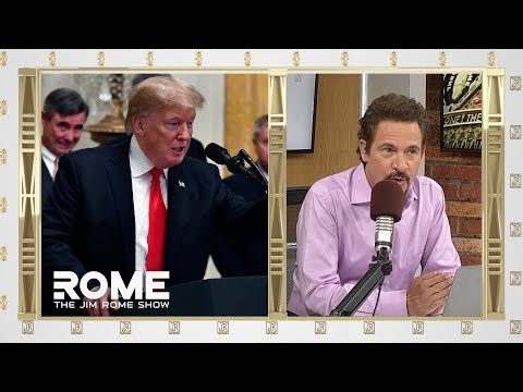 Trump Serves Fast Food Dinner at Clemson's White House Visit | The Jim Rome Show